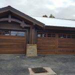 wood garage doors10