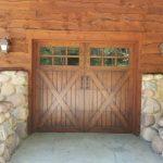wood garage doors24
