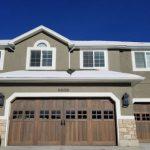 wood garage doors30