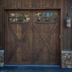 wood garage doors70